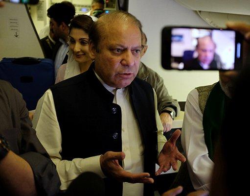 Nawaz Sharif, Maryam Nawaz arrested from Lahore airport, taken to