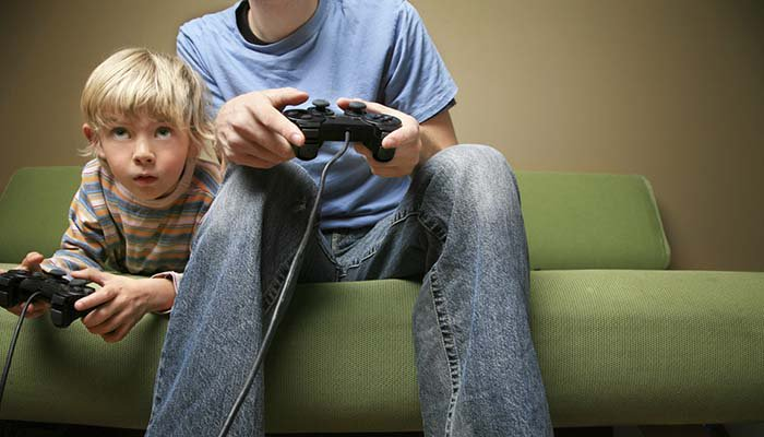 Image result for Overweight kids can slim down using video games