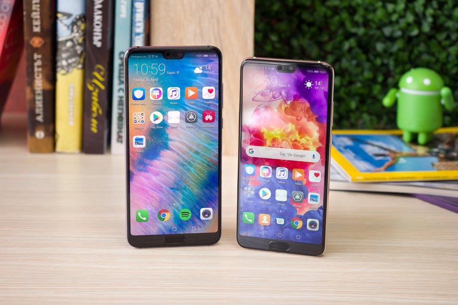Huawei rolling out Android Pie-Based EMUI 9 update to P20