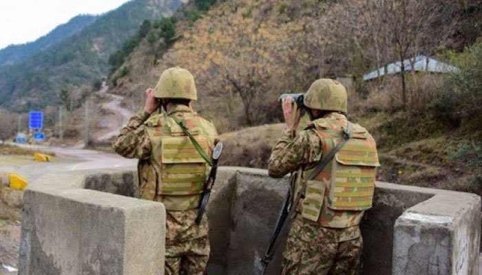 ISPR says Army, Air Force, Navy on alert, no casualties on our