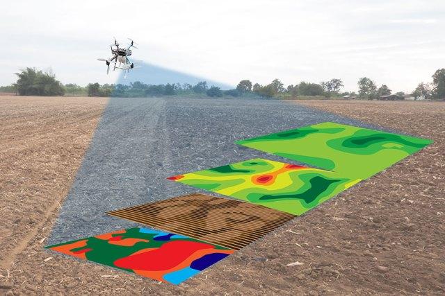 Ilustrasi Pemetaan Drone