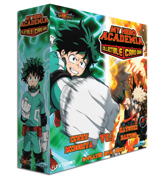 MHA 2-Player Rival Deck