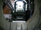 A peak inside the Witchcraft you're looking aft towards tail gun.