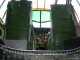 Tondelayo Interior - looking up towards the flight deck.