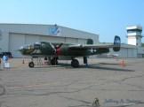 "The ""Tondelayo"" a World War II era B-25J Mitchell medium bomber."