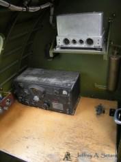 The radio operatorstation in the Aluminum Overcast.