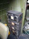 Equipment in the Aluminum Overcast's radio compartment.