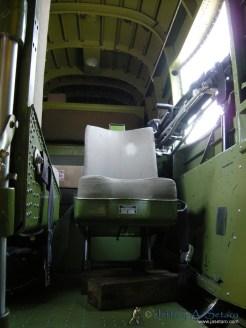 Tondelayo interior - waist gunners station.