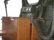 Nine O Nine interior: ammunition boxes for the nose turret.