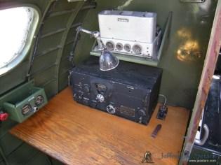 The radio operators station in the Nine O Nine.