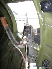 A close-up view of one of the Nine O Nine's waist guns.