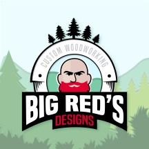 Big Red's Designs Logo