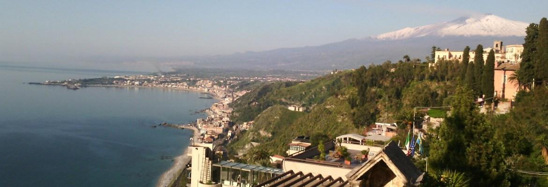 Etna and Taormina