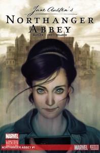 La copertina del fumetto Marvel tratto da Northanger Abbey