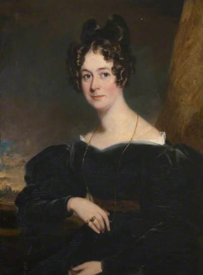 La contessa Frances Morley, dipinta nel 1830 da Frederick Richard Say