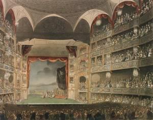 Londra, Drury Lane Theatre, 1808