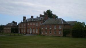 Godmersham Park, Kent, facciata anteriore