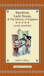 Sanditon-Lady-Susan-the-History-of-England-Hardcover-P9781907360053