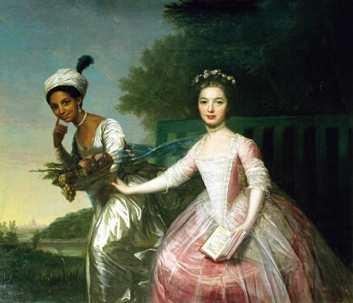 Ritratto di Dido Elizabeth Bell e Lady Elizabeth Murray