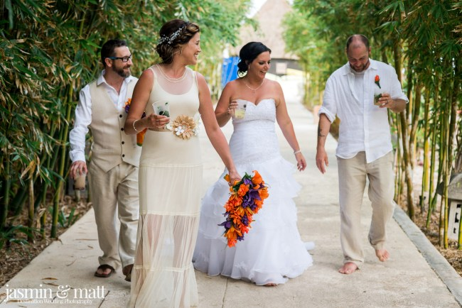Charlotte & Kristian Michelle & Steve a Double Destination Wedding at Sandos Caracol Eco Resort