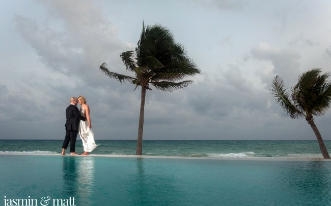 Jessica & Brennan's Sexy Bohemian Destination Wedding at Mahekal Beach Resort in Playa del Carmen