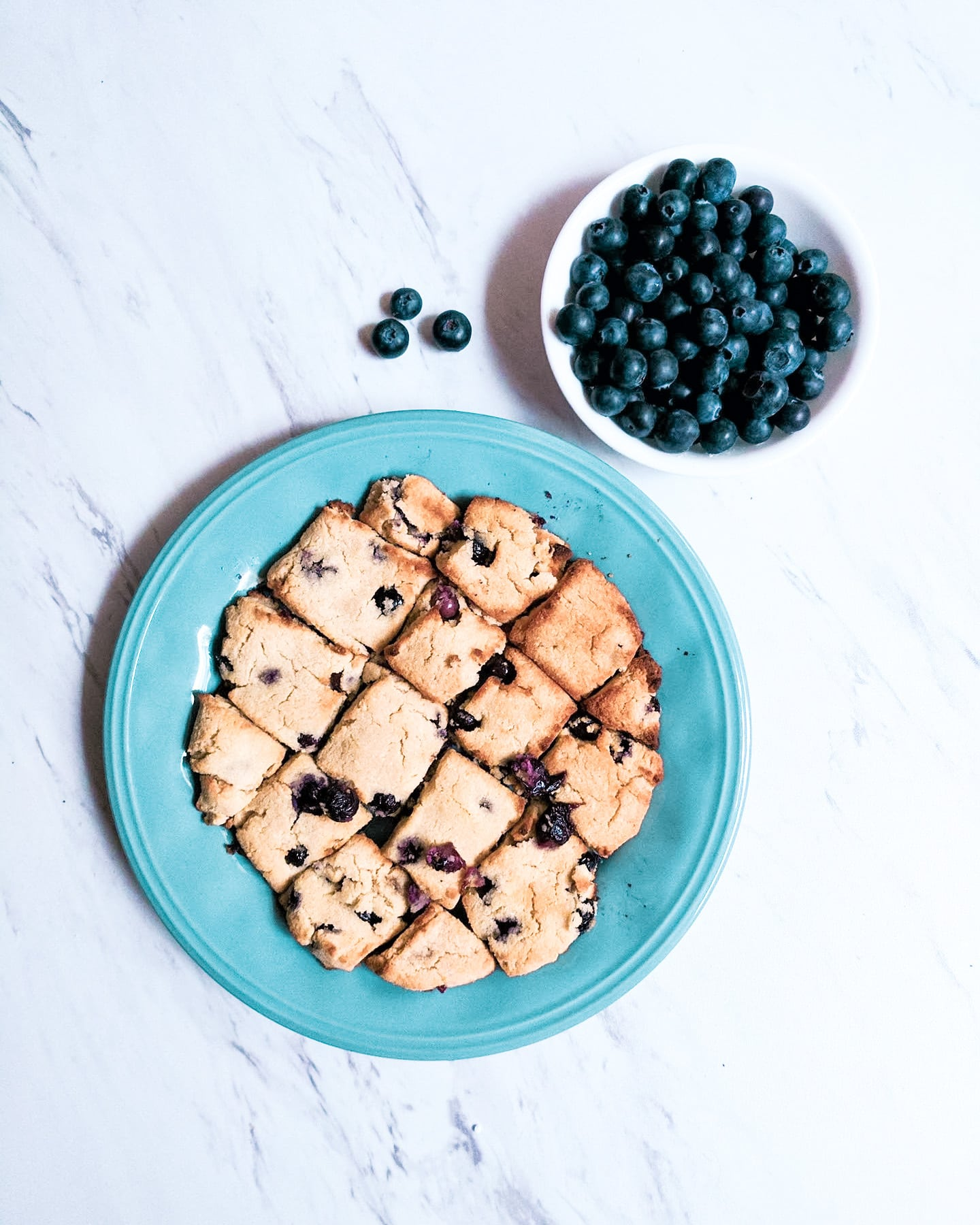The Most Delicious Low Carb Blueberry Scones