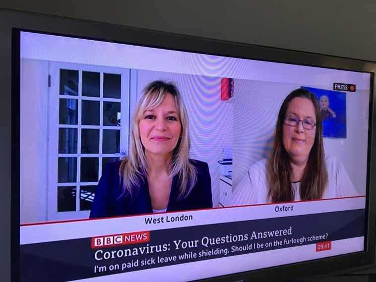 BBC TV News Jasmine Birtles