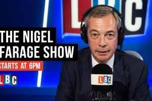 Nigel Farage LBC Jasmine Birtles
