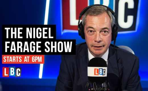 Nigel Farage LBC Jasmine Birtles