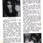 article which I wrote for UK-fan-magazine - Kiss Crazy -, Oct. 1992