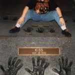 "..visiting the ""ROCK WALK"" in Los Angeles (CA) 1994. As a true fan I fell on my knees, cleaned and kissed the handprints (we got it on video-tape..);-))"