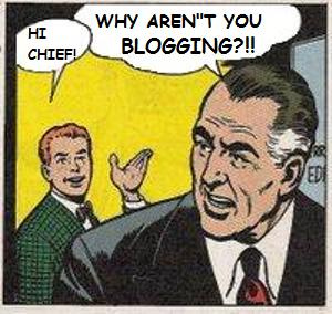 Why Aren't You Blogging