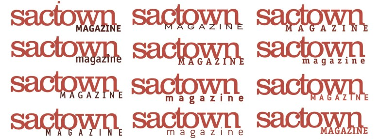 several variants in the running for the original sactown logo