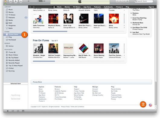 Setting up an US iTunes account