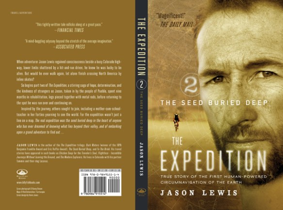 Adventure books: The Seed Buried Deep by Jason Lewis