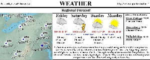 CalTimes Newspaper Weather Section 012910