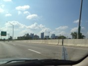 Columbus, OH from I-70