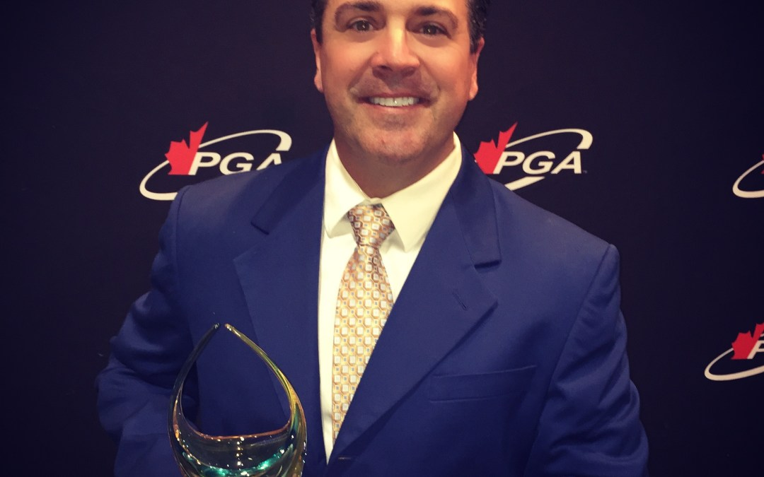PGA of Canada Professional Development Award Recipient – Jason Helman