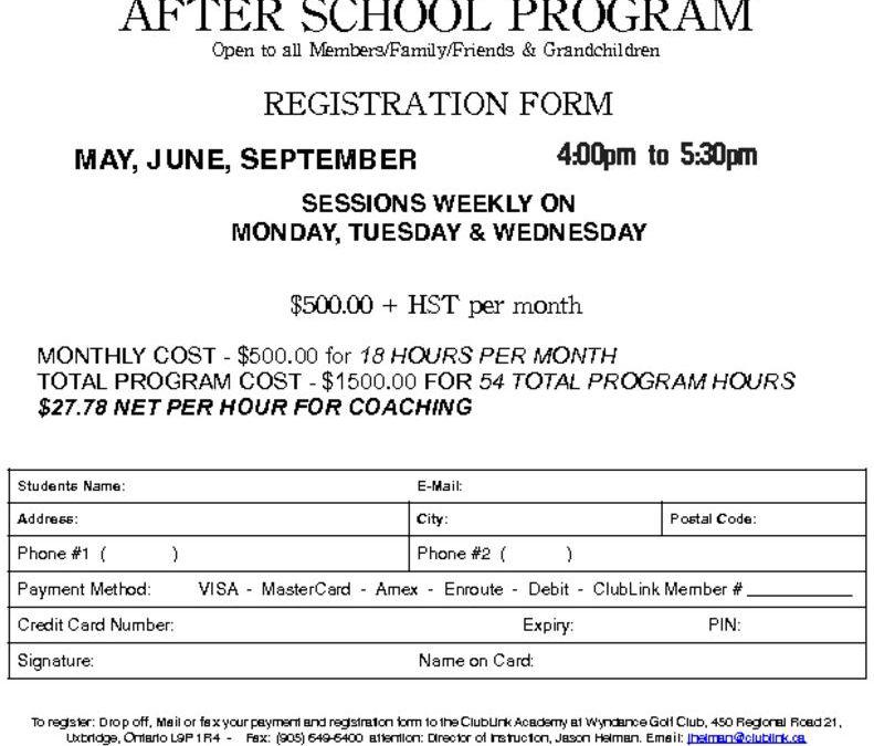 thumbnail of 2018 Wyndance After School Program Registration Form