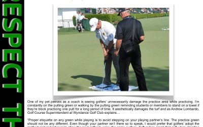 Game Changers – Mind the Putting Green While Practicing