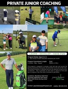 Jason Helman Golf Private Junior Golf Coaching best junior coach