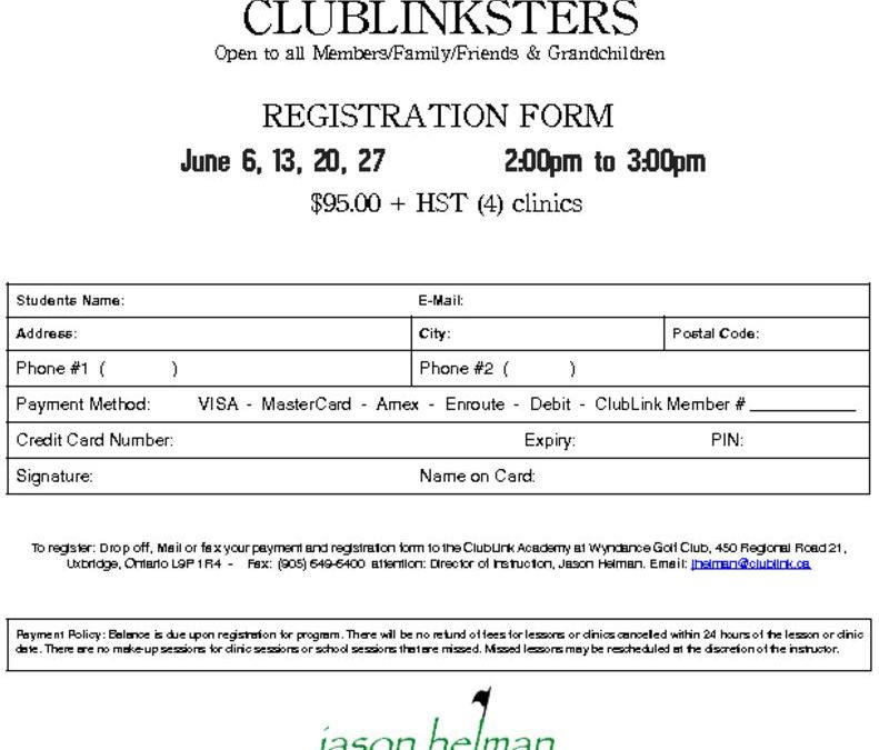thumbnail of 2020 Wyndance ClubLinkster Registration Form