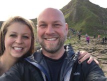 Giant's Causeway selfie!