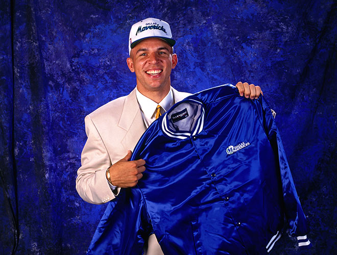 Jason Kidd was selected No.2 overall in the 1994 Draft