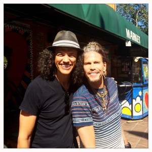 Steven Tyler at the Canyon Country Store