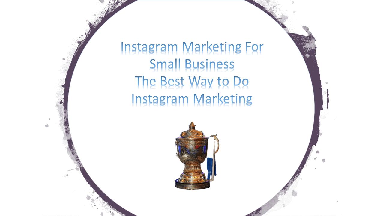 Instagram Marketing - JasonMascarenhas.com