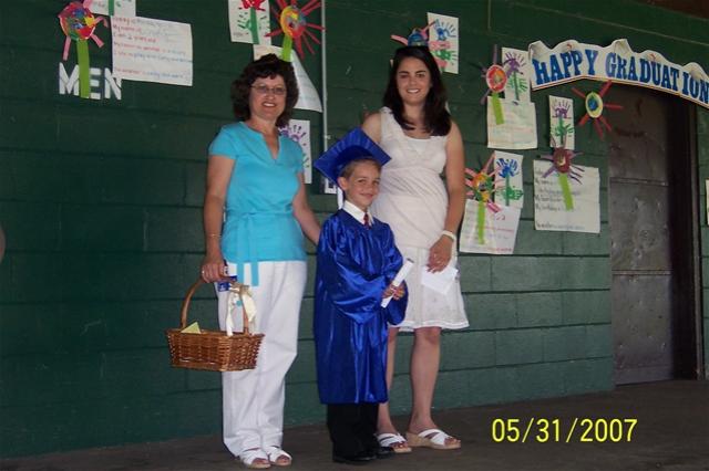 Ryan graduates from pre-school, prepares for K-garten