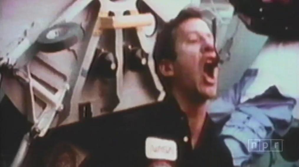 """Weird, Goofy"" NASA Video"