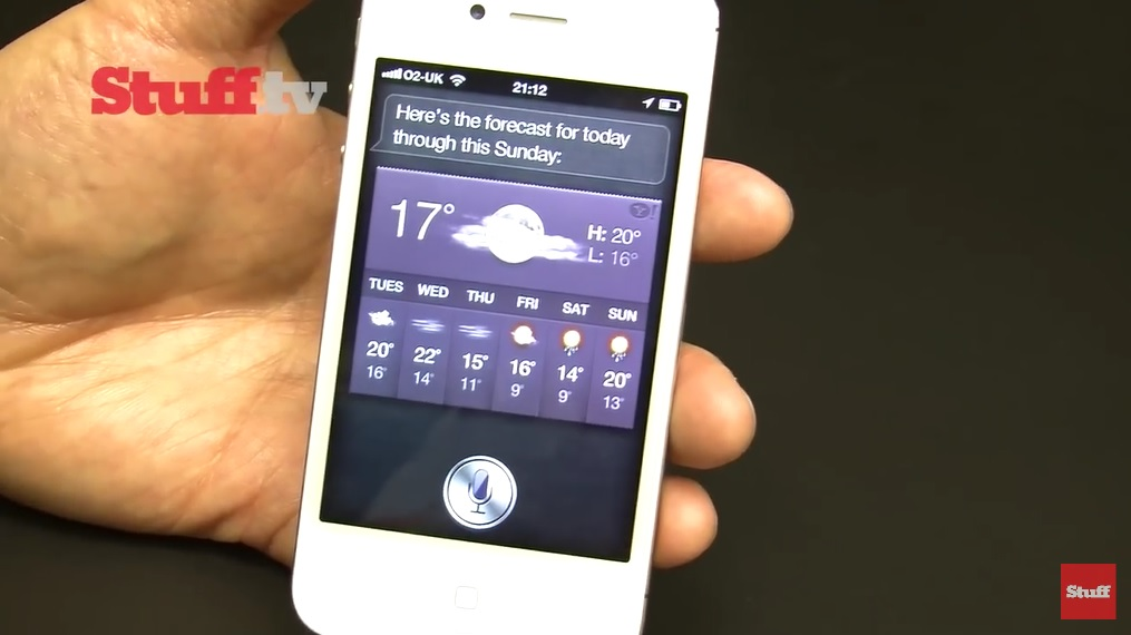 iPhone 4S Siri Demonstration