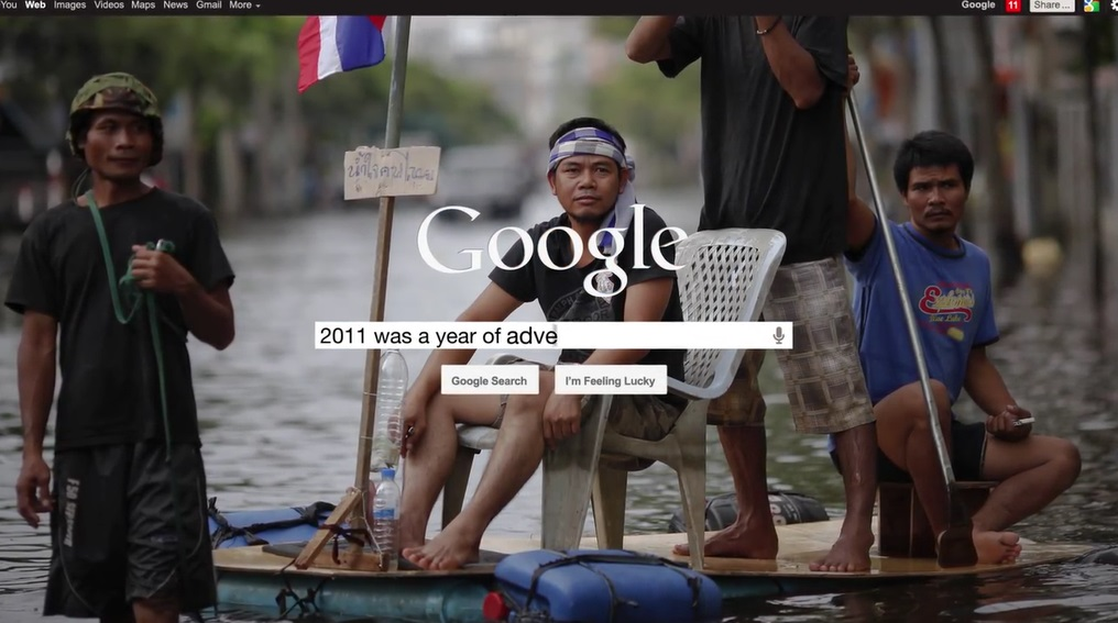 Google's 2011 Year In Review